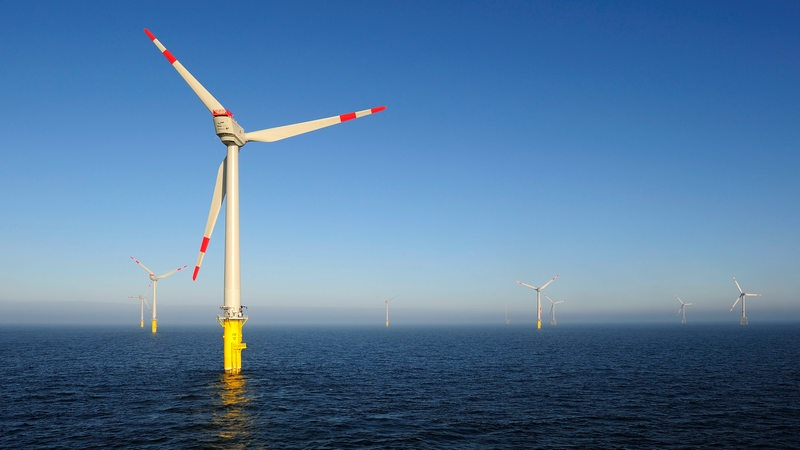Windpark in der Nordsee