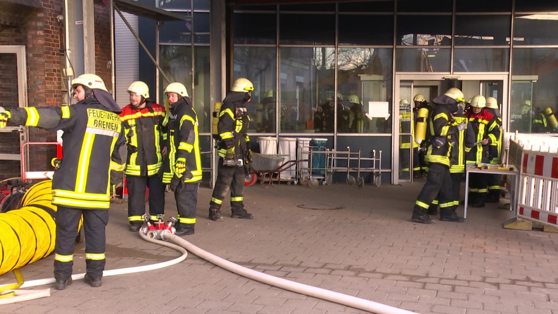 Feuer Bremen nach kabelbrand betrieb am klinikum bremen mitte läuft wieder