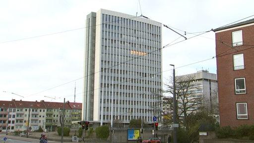 Bundeswehrhochhaus an der Falkenstraße