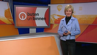 Kirsten Rademacher im Studio