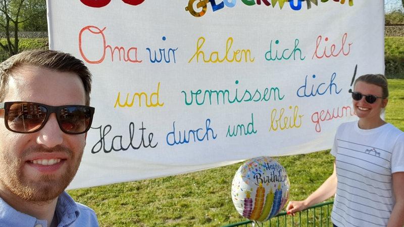 Geburtstagsbanner Zum Fest Jetzt Nach Mass Gestalten