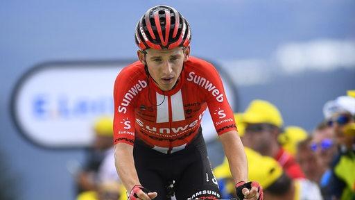 Lennard Kämna bei der Tour de France 2019