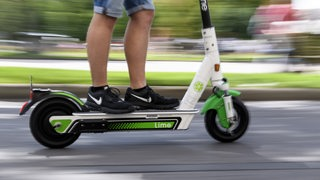 E-Scooter des Anbieters Lime