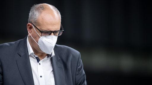 Bovenschulte mit FFP2-Maske