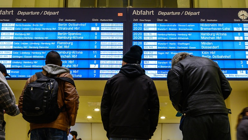 Baustelle In Hannover Bringt Stress Für Bremer Zugreisende