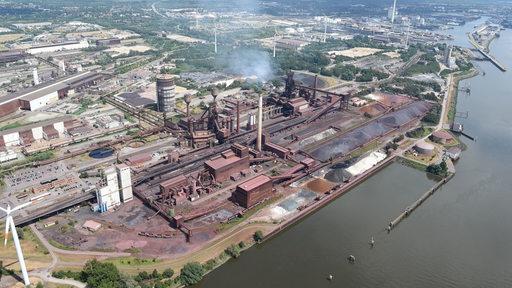Das Bremer Stahlwerk von Arcelor Mittal