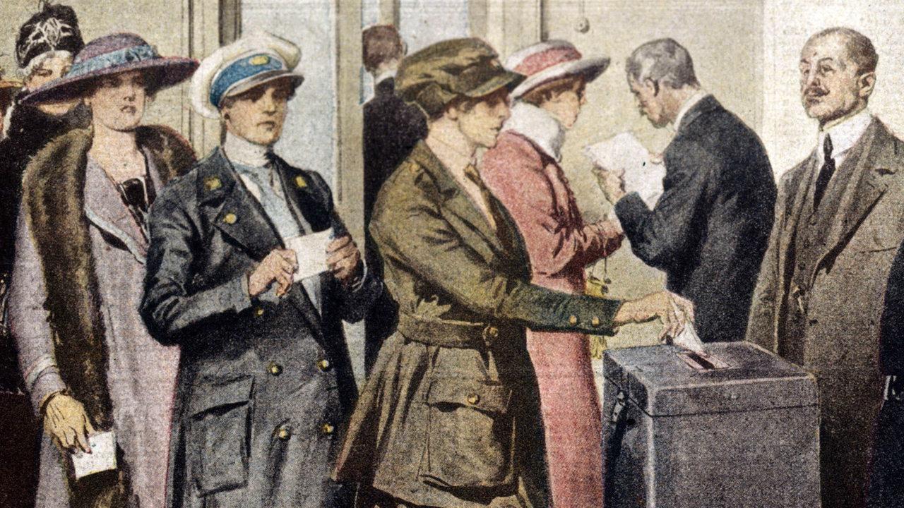 Wahlrecht Frauen In Deutschland