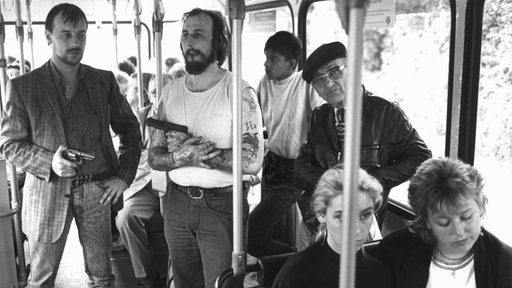 Geiselgangster von Gladbeck im Bus