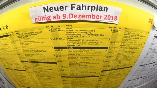 Fahrplanwechsel in Niedersachsen