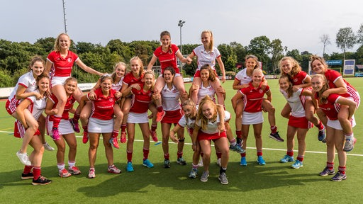 Team-Foto 1. Damen Bremer Hockey Club.