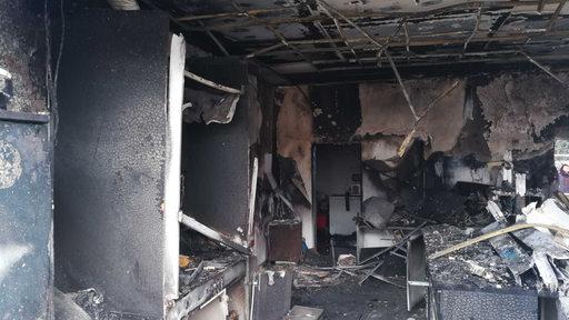 Explosion im Kreishaus Rotenburg