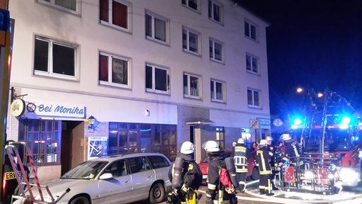 Wieder ein Hausbrand in Bremerhaven