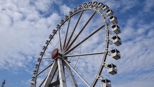Riesenrad auf dem Freimarkt
