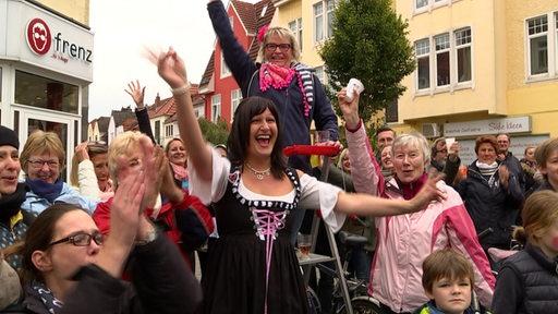 Stimmungsbild des 50. Bremer Freimarktsumzuges