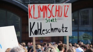 Klimademo Friday for Future in Bremen.