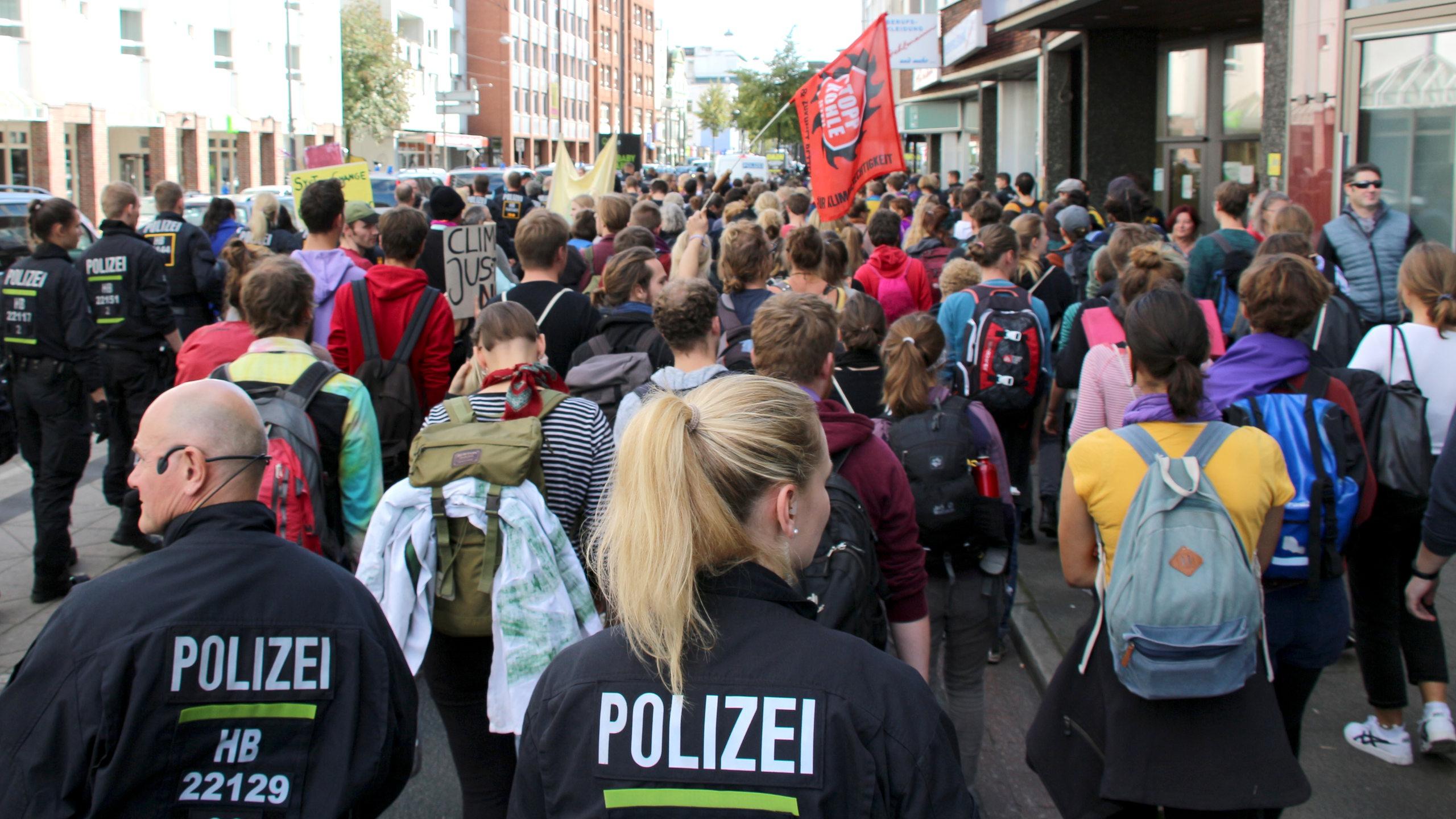 bremen demonstration heute