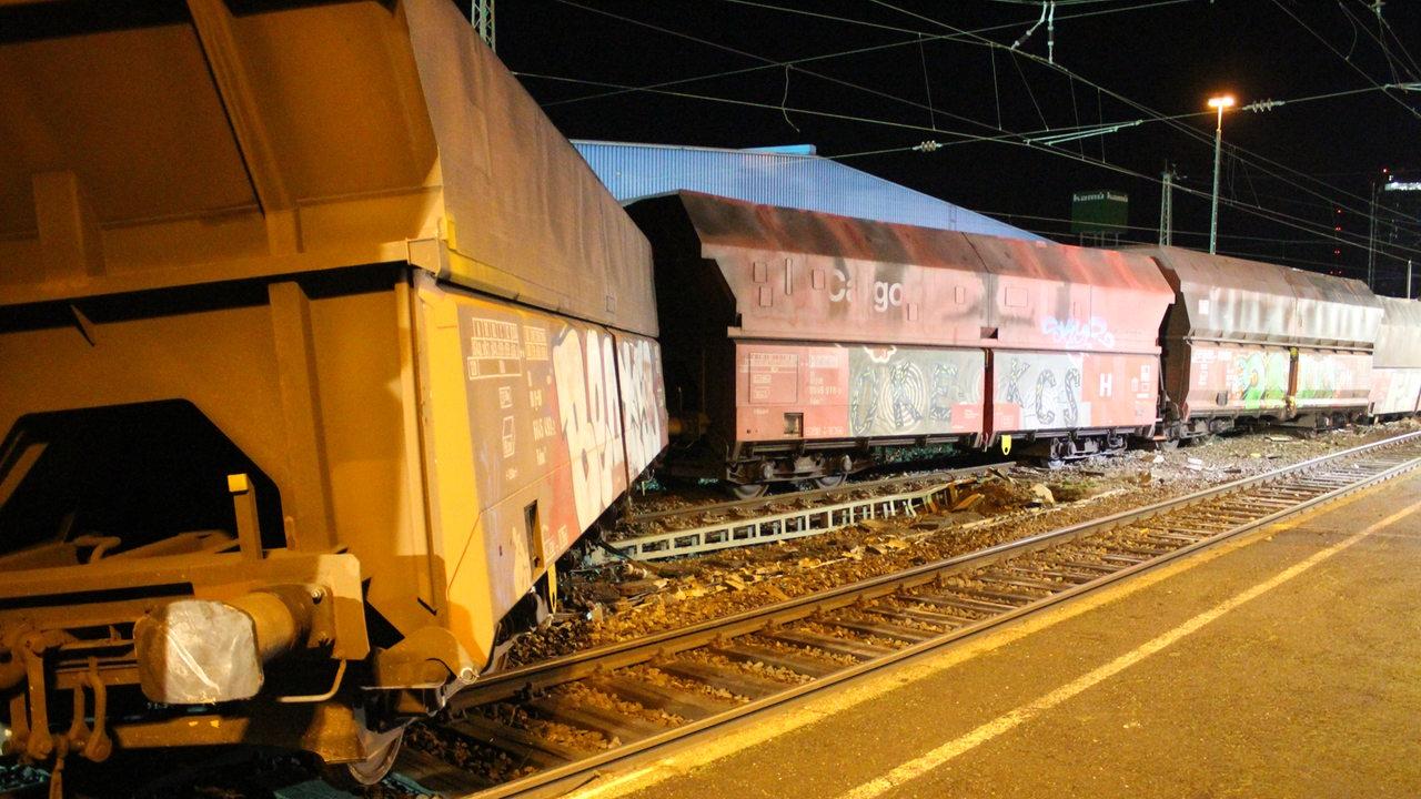 Güterzug Entgleist Bremen