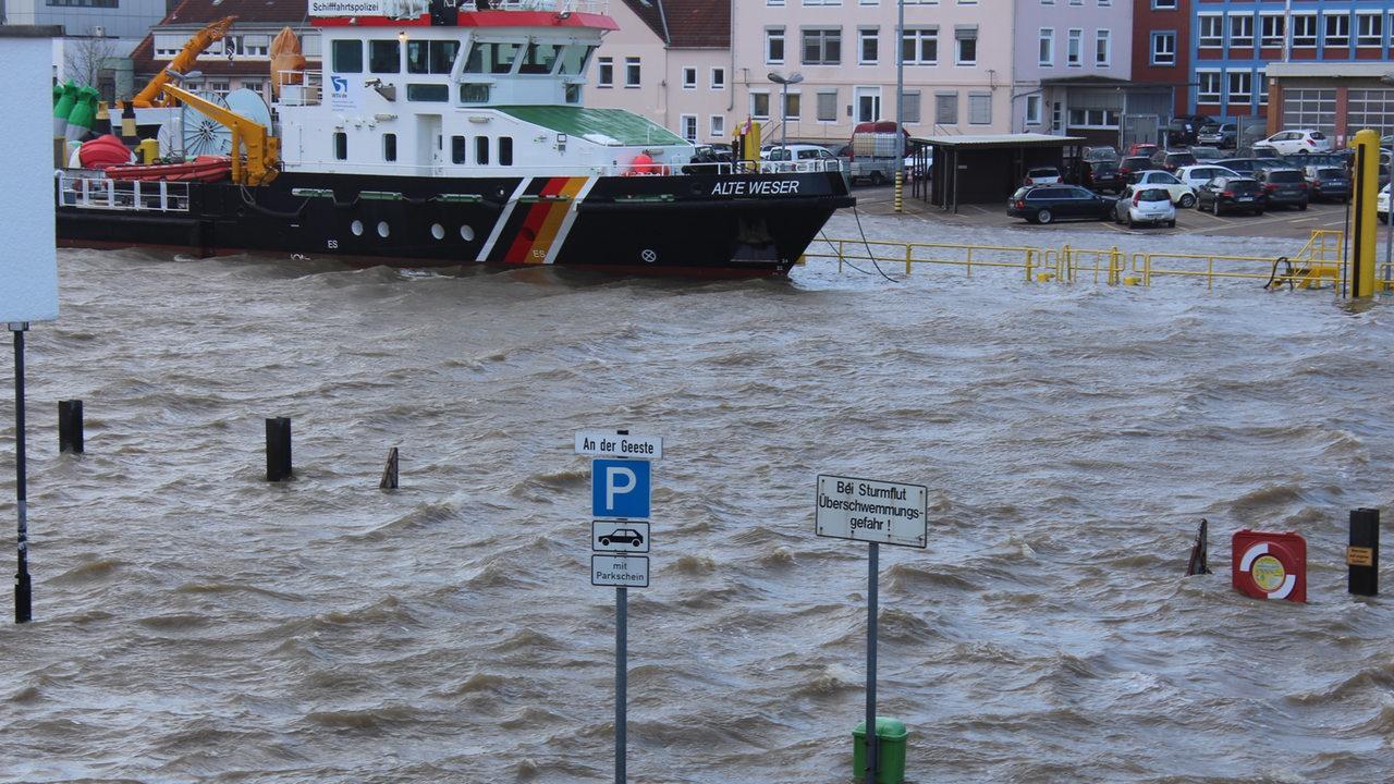 Unwetterwarnung Bremen