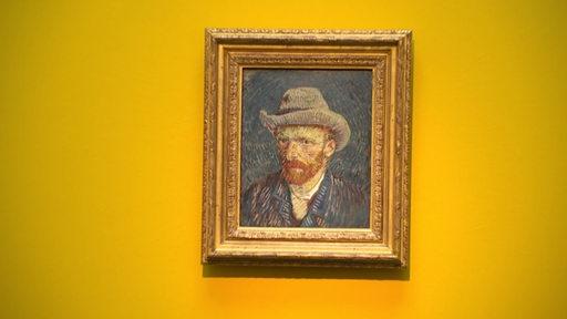 Ein Gemälde von Vincent van Gogh in der Kunsthalle.