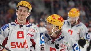 Tom Horschel und Mike Moore von den Fischtown Pinguins