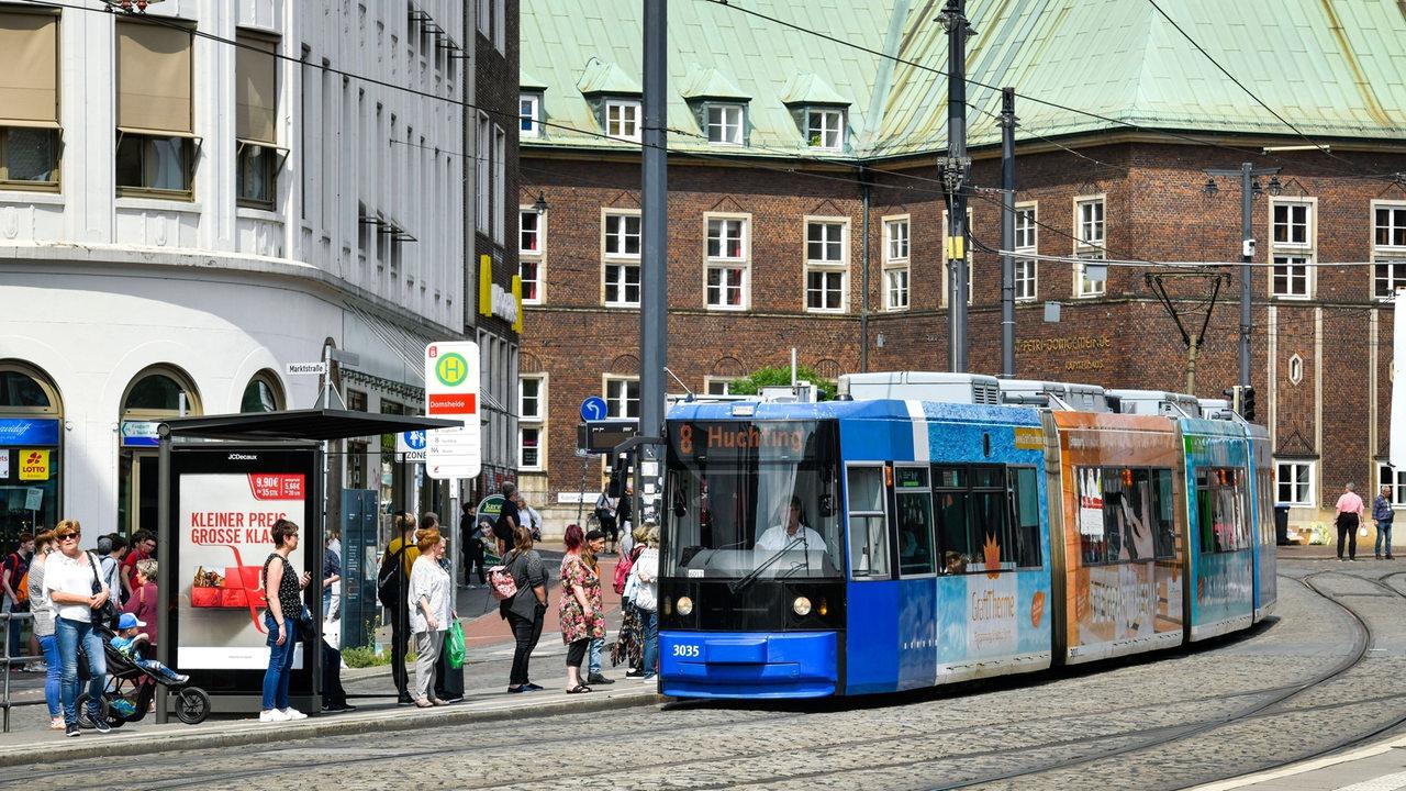 Gleisarbeiten an Bremer Domsheide bringen Fahrplan