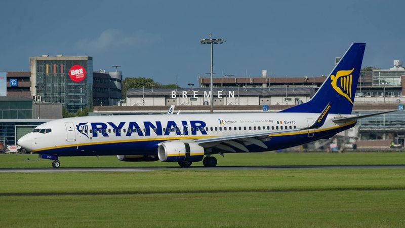 Erster Pilotenstreik bei Ryanair könnte auch Bremen ...