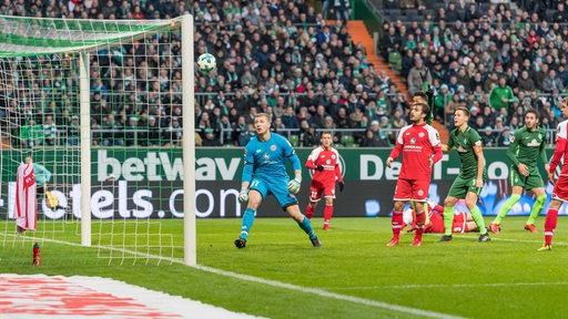 Torszene bei Werder gegen Mainz
