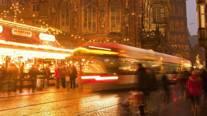 Bremen Weihnachtsmarkt.Mehr Busse Und Bahnen Zur Bremer Vorweihnachtszeit Buten Un Binnen
