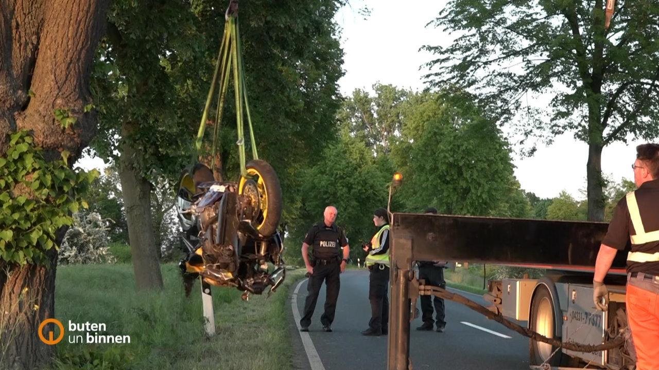 Motorradfahrer im Landkreis Verden tödlich verunglückt
