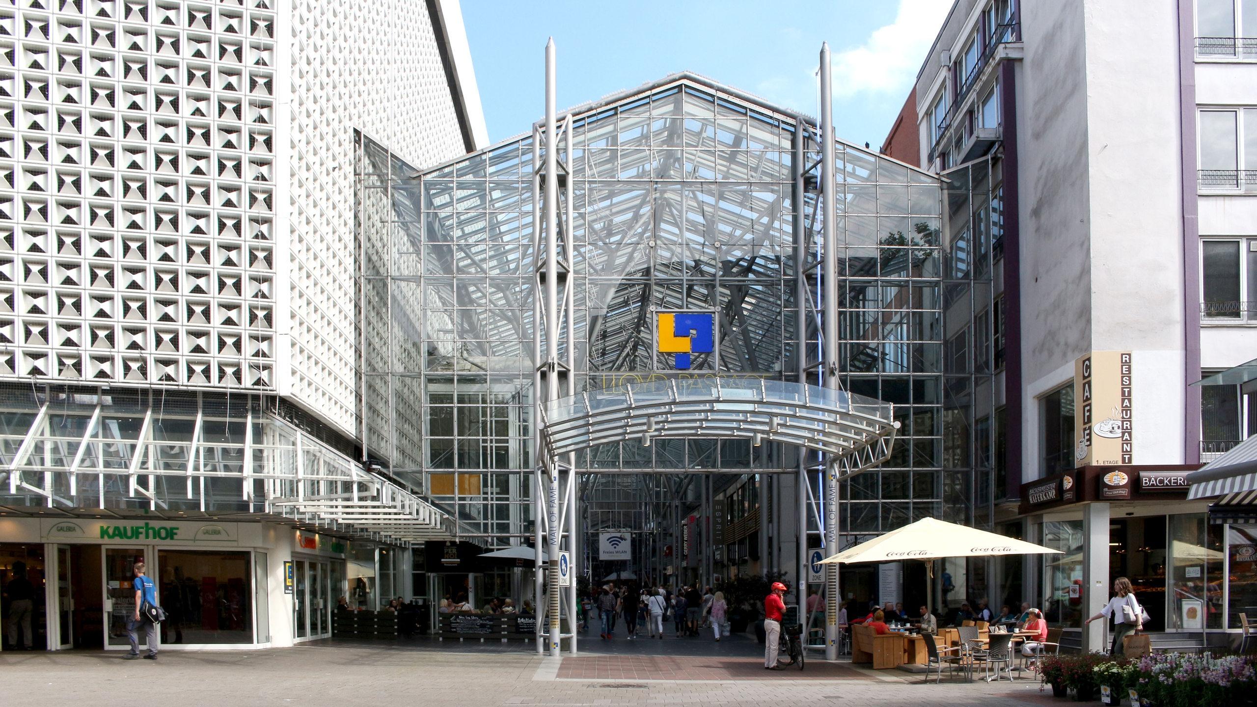 Kaufhof Gebäude buten un binnen