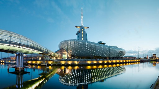 Außenansicht Klimahaus Bremerhaven