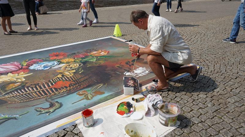 Künstler Bremen wenn die innenstadt zum kunstatelier wird buten un binnen