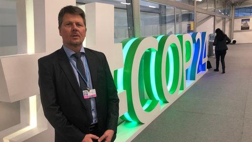 Der Bremer Umweltsenator auf der Weltklimakonferenz 2018 im polnischen Kattowitz