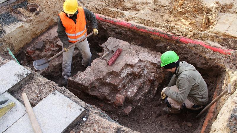 Teile Historischer Mauer Bei Bauarbeiten Entdeckt Buten Un Binnen