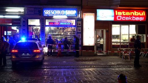 Vor einem Kiosk am Ziegenmarkt im Bremer Viertel wurde ein Mann erstochen.