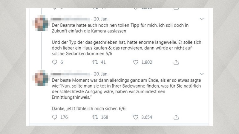 Screenshot: Ein Tweet einer Twitch-Userin