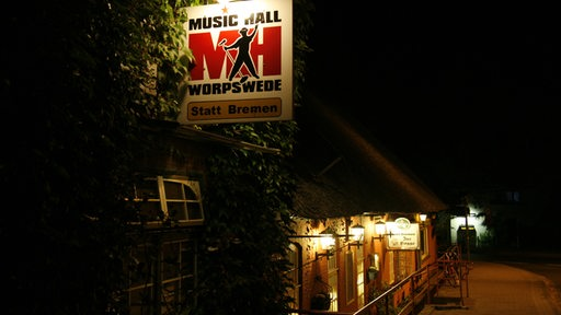 Music Hall, Worpswede bei Nacht