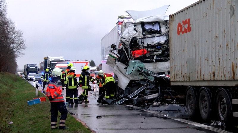 Unfall A1 Burscheid Heute