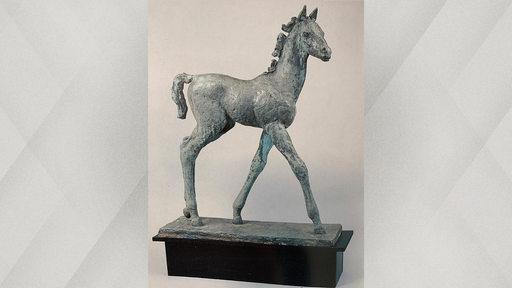 Fahndungsbild der Bronzestatue