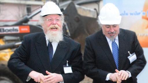 Die Investoren Pinchas und Samuel Schapira.