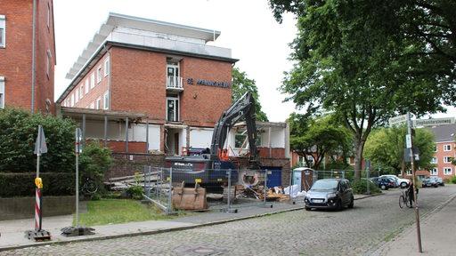 Das Bremer Seemannsheim wird abgerissen.