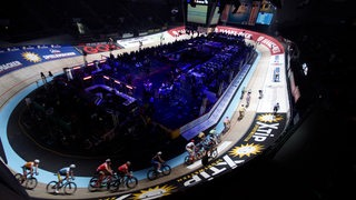 Sixdays 2017 Bahn Fischauge