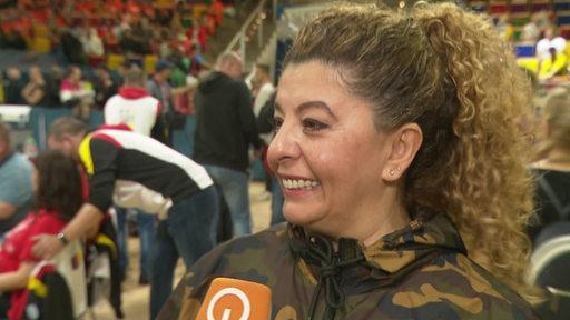 Tanz-Mama Teilnehmerin Üzlem Kahvecioglu im Interview.