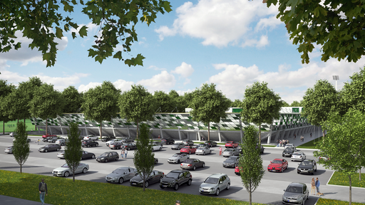 Simulation: Werder Bremen Nachwuchs-Leistungszentrum