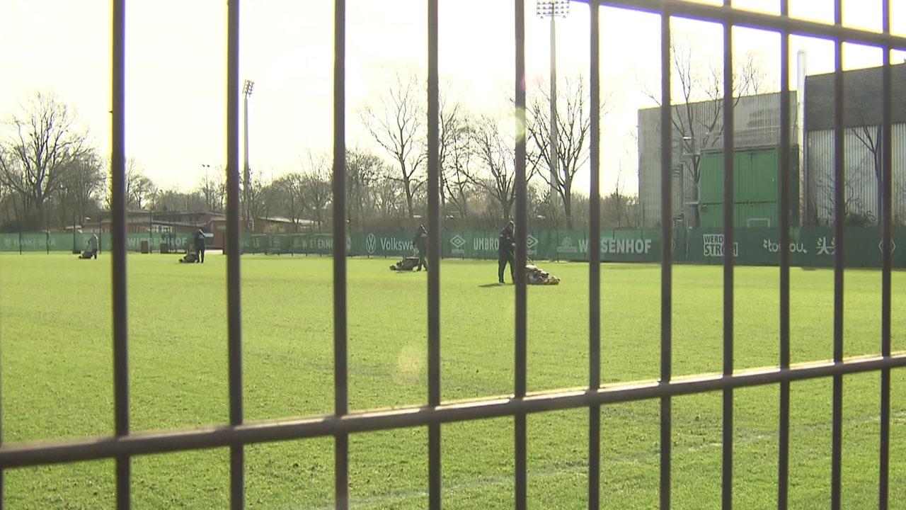Werder geht vor dem Pokalspiel gegen Frankfurt auf Abstand zu den Fans