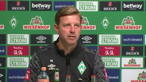 Werder Trainer Florian Kohfeldt im Interview.