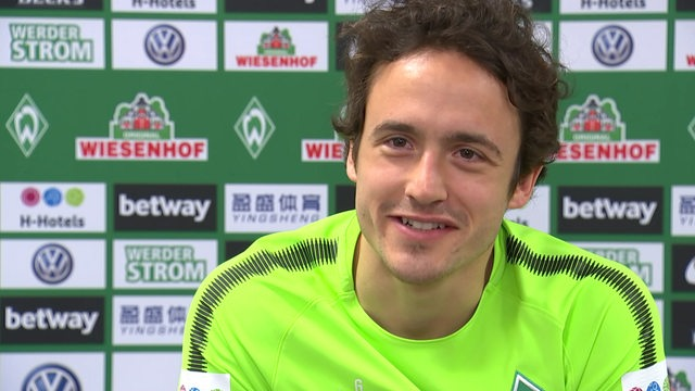 Thomas Delaney im Interview.