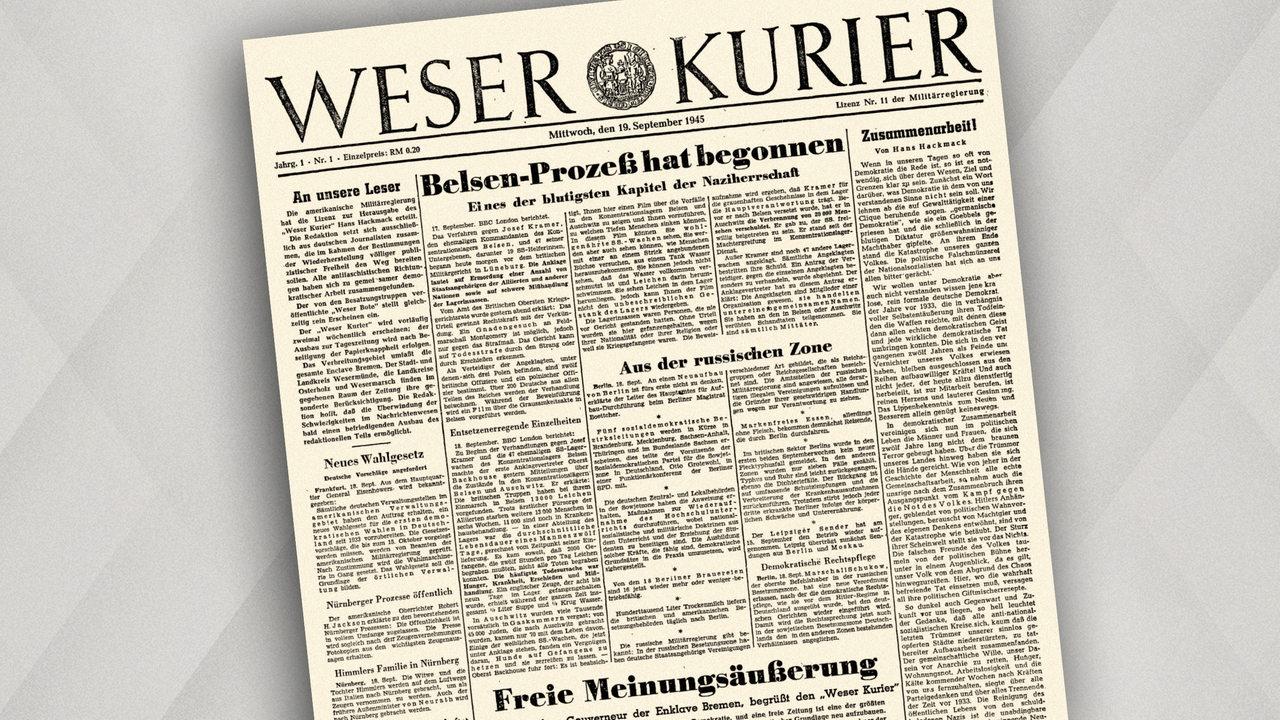 Weser kurier bekanntschaften